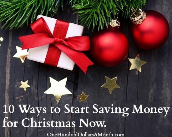 10 Ways to Start Saving Money for Christmas Now