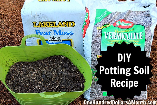 DIY - How to Make Your Own Potting Soil