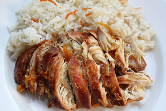 Easy crockpot chicken recipes rice