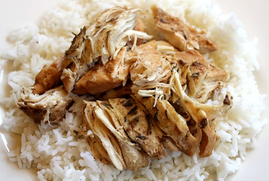 Easy Crock Pot Recipes Orange Garlic Chicken