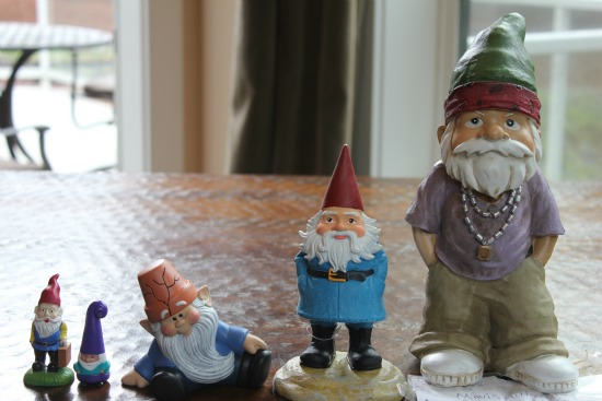 Gnomes for St. Jude's Mavis One Hundred Dollars a month