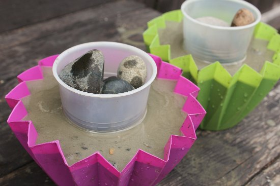 how to make rock molds