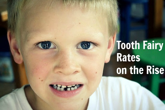 Red Alert! Tooth Fairy Rates on the Rise