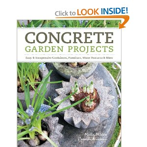 concrete garden projects