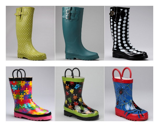 AHRENDES - women's Rain boots for sale at Little Burgundy Shoes