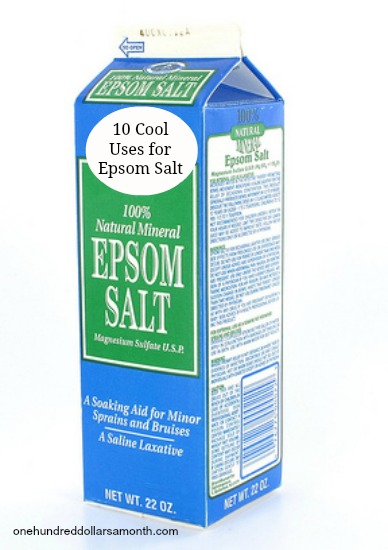 10 Cool Uses for Epsom Salt