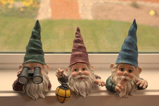 garden gnomes St. Jude Fundraiser
