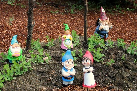 garden gnomes mavis St. Jude