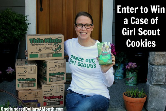 Giveaway – Enter to Win a Case of Girl Scout Cookies