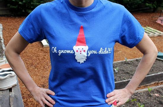 gnome t-shirt mavis one hundred dollars a month