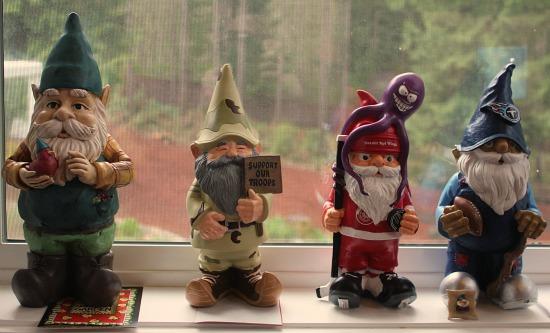gnomes St. Jude Mavis one hundred dollars a month