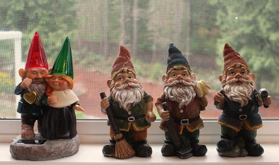 gnomes mavis one hundred dollars a month St. Jude