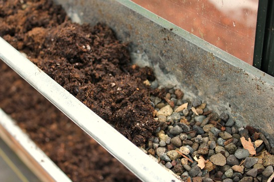 grow food in gutters