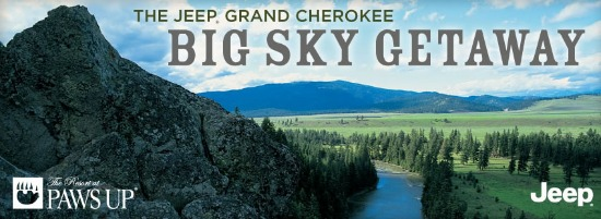 jeep cheeroke Big Sky Giveaway