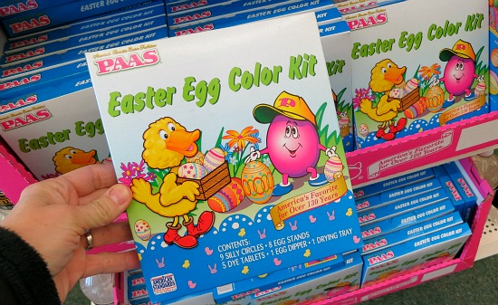 Foil Easter Eggs Paas Paas Easter Egg Color Kit