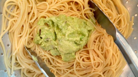 recipe creamy avocado pasta