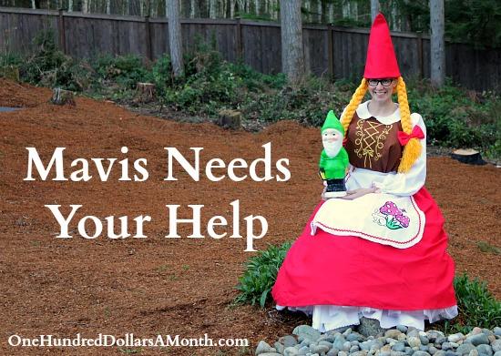 Mavis Asks Readers to Send in Gnomes