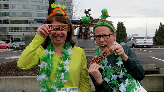 Mavis and the Tacoma St. Patrick's Day 10k Race