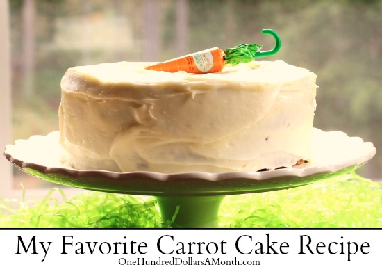 the best moist carrot cake recipe