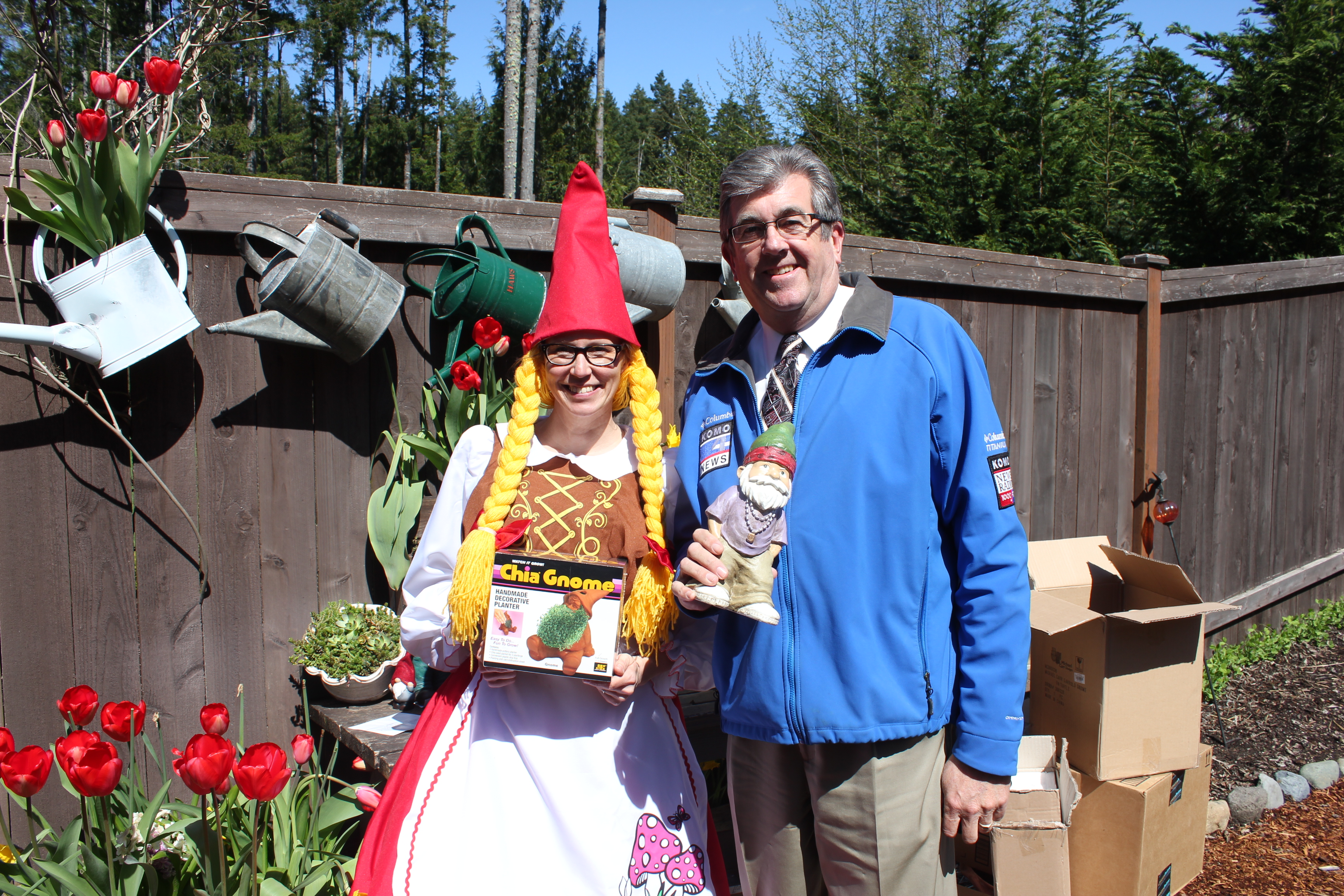Welcome Komo News Viewers – Send in the Gnomes