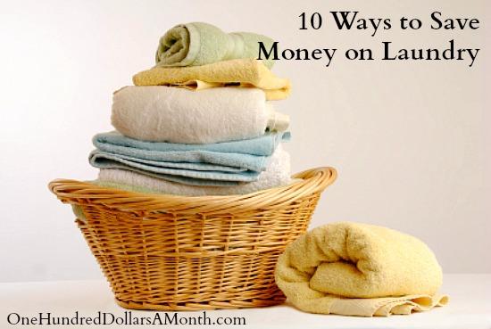 10 Ways to Save Money on Laundry