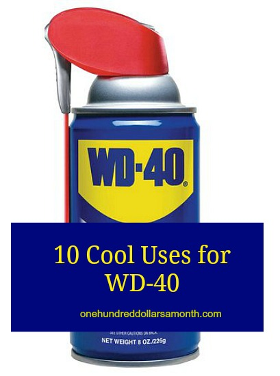10 Cool Uses for WD-40
