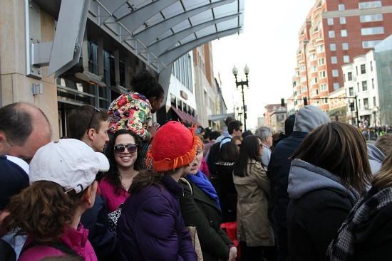 2013 boston marathon crowd