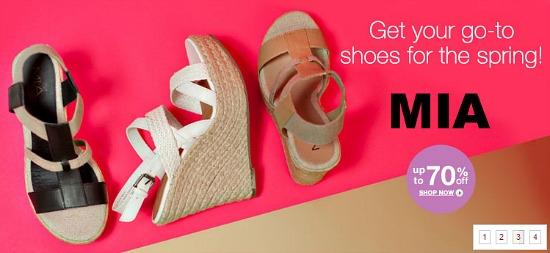 6pm summer sandals
