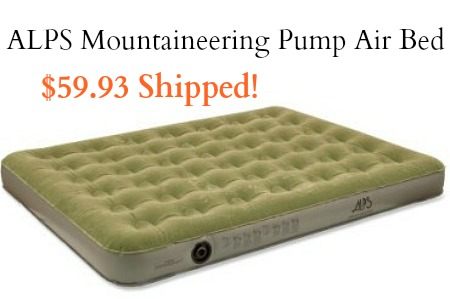 ALPS Mountaineering Rechargeable Pump Air Bed