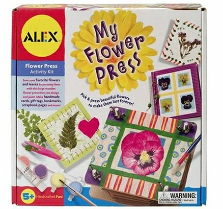 Alex My Wooden Flower Press