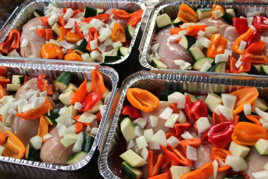 Freezer Meal Recipe  Chicken Cacciatore