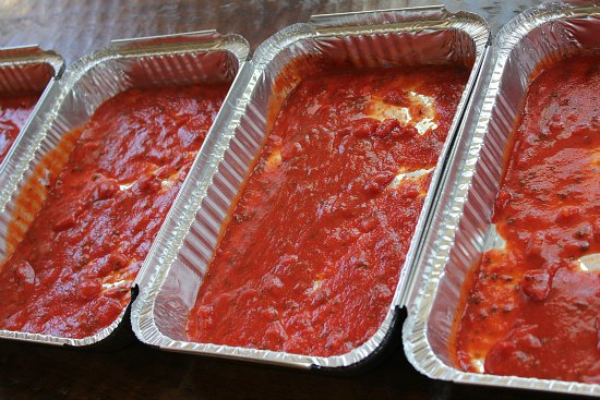 Freezer Meals - Lasagna with Meat Sauce