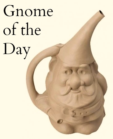 Gnute The Gnome Watering Can