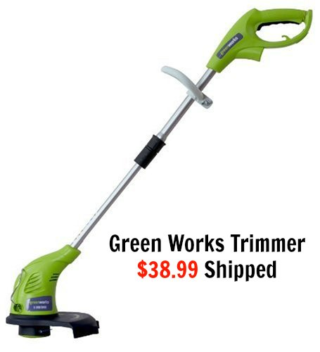 GreenWorks 21212 4 Amp 13 Corded String Trimmer