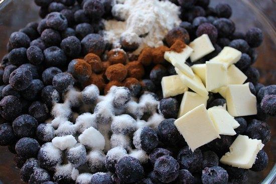 Old Fashioned Blueberry Crisp Recipe