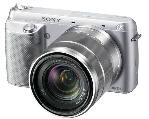 Sony NEX-F3K S 16.1 MP Compact System Camera with 18-55mm Lens