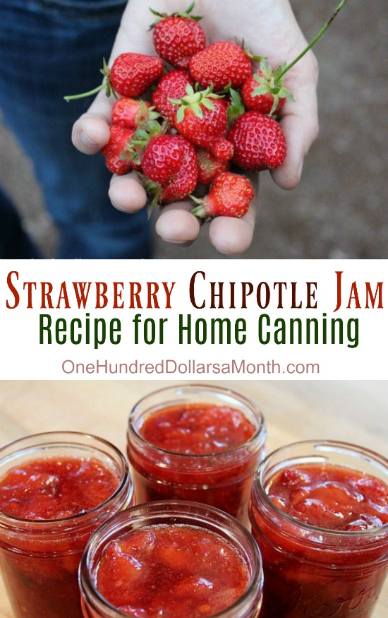 Canning 101 – Strawberry Chipotle Jam Recipe