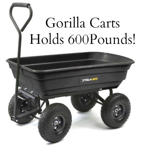Tricam GOR200B Gorilla Carts 600-Pound