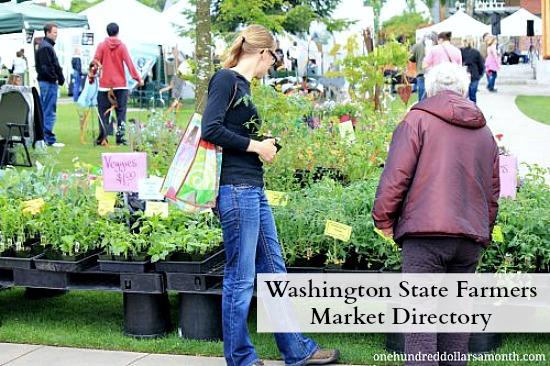 Washington State Farmers Market Directory