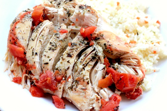 Easy Slow Cooker Recipes – Savory Chicken with Tomatoes