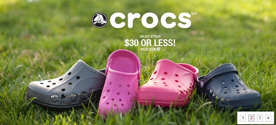 crocs coupon
