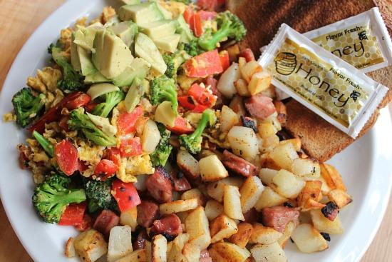 easy breakfast recipes eggs vegetables potatoes