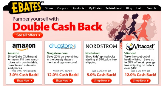 ebates double cash back