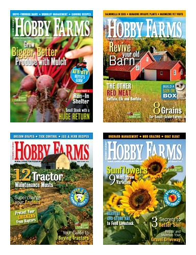 Hobby Farm Home Magazine – 1 Year Subscription Only $7.99