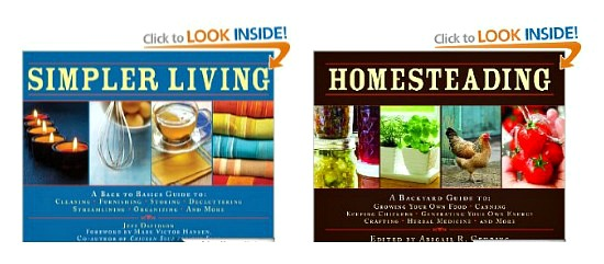 homesteading books