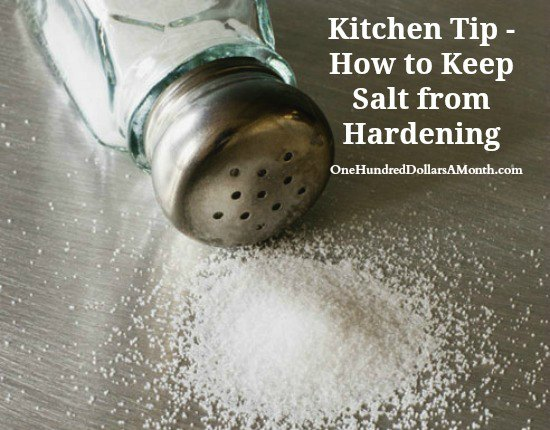 Easy Kitchen Tips – How to Keep Salt from Hardening