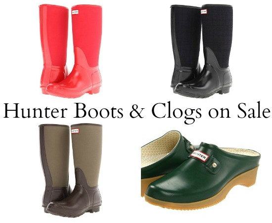 hunter boots deal coupons
