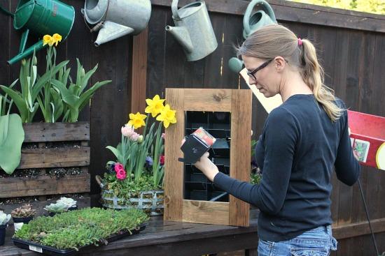 living wall planter frame gro vert