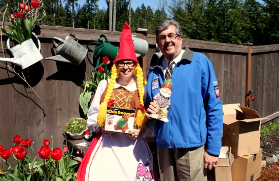 mavis butterfield komo news gnome St. Jude