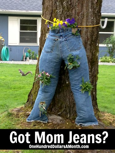 Mom Jeans – Gives New Meaning to Junk in the Trunk!